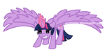 Princess Twilight Sparkle (again) by Quillnote