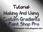 Tutorial: Making and Using Custom Gradients in PSP by rosebfischer