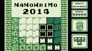 NaNoWriMo- November 2014 Tetris Theme by Phantasm09