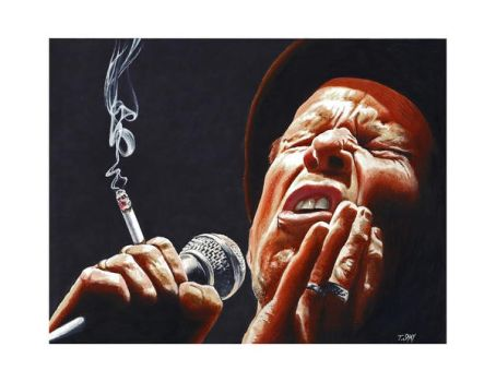 Tom Waits by Dr-Horrible