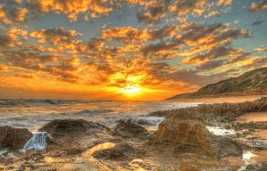 Point Lonsdale Sunset hdr by DanielleMiner