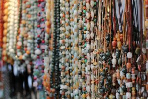 beaded necklace by ivanwsd