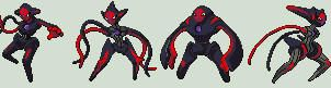Corrupted Deoxys-'Other Forms' by NexEvo