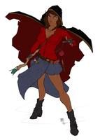 Master Mage Hermione - Preview by RBL-M1A2Tanker