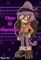 Disan the Chameleon by NegaLynx