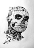 Rick Genest- Profile 18 by GeeFreak
