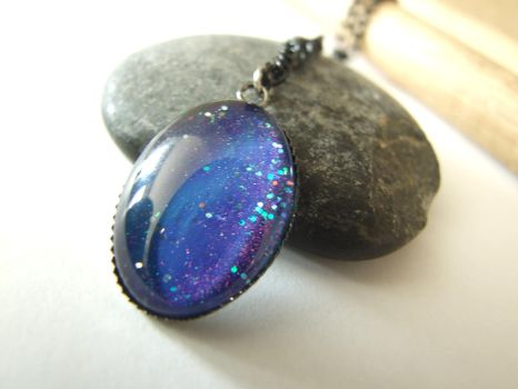Galaxy Necklace by FantasyDesigns1