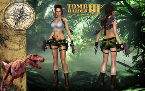 Lara Croft TRIII South Pacific Outfit by Lerova by Lerova