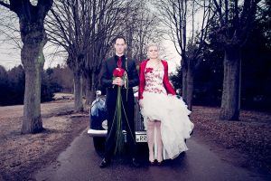 february wedding portrait by C-h-r-i-s-P