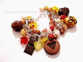 Chocolate Bracelet by ChocoAng3l