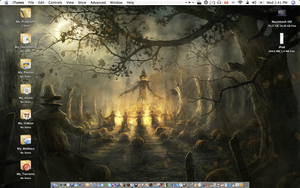 Halloween Desktop by jawnx108