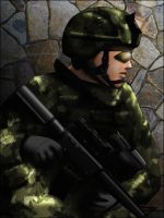 Soldier 2 by SeanyP40