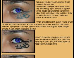 Eye Photomanipulation Tutorial by NajlaQamber