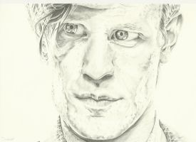 The Doctor- Matt Smith Doctor Who by SheenaBeresford