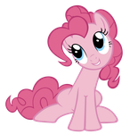 Pinkie-Pie likes to sit by Are-you-jealous
