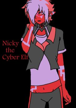 Nicky The Cyber Elf for KMH741 by Ghirahim2015