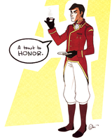General Iroh II would like to toast by gladyfaith