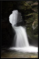 St Nectans Waterfall 2 by Xeno834