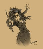 Bellatrix Lestrange by SmolBeanie