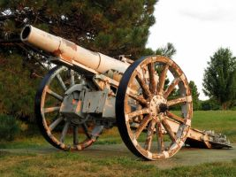 Civil War Cannon 3 by hyenacub-stock