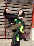 Shego and Kim IV by VaguePurple