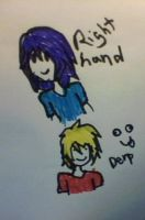 Right Handed Drawings by Ask-Tomboy-Princess