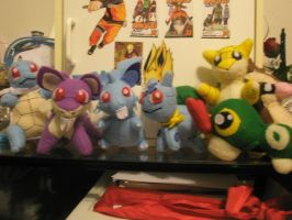 The gang's all here :D by Vulpes-Canis