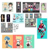 LOOK AT THIS MASSIVE SALEEEE[OPEN][Offer To Adopt] by Dehybi-Adopts