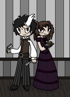 Sweeney Todd and Mrs.Lovett 2 by SalemTheCat23