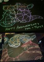 November 2014 Chalk Tables by NezuKunoichi