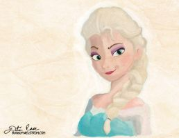 Speed Painting - Elsa by thedustud