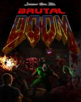 Brutal Doom 'Poster version' by Finfr0sk