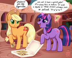 Nerdy jokes with Twilight~ by onnanoko