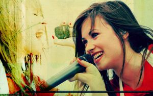Demi Lovato wallpaper by shizz-alexz