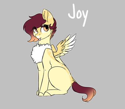 [OC] Joy (re imagined) by OhHoneyBee