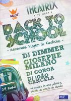 """Back To School"" party flyer by BK1LL3R"