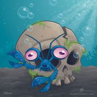 eye crustacea by fizzgig