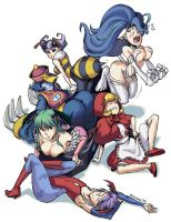 Darkstalkers Tribute by Kinuko