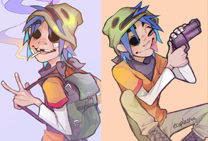 2-D by ecoplasm