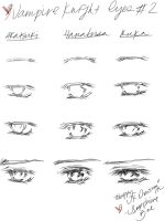 How to Draw Vampire Knight: Eyes part 2 by SapphireBae