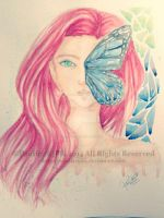 Blue Butterfly Wing by nataliarjp02