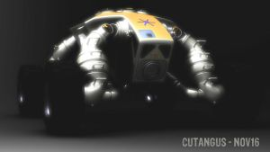 Hard Environment Multipurpose Vehicle HEMV-A01 by CUTANGUS