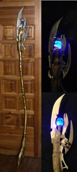 Loki staff  - Avengers by LordWobbler