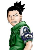 Shikamaru - Colored by v2-6