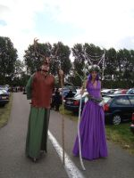 Fairy King and Queen on the parking lot by Firefly182