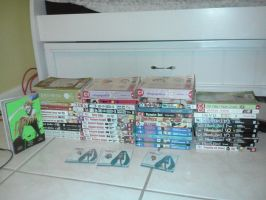 My Manga Collection by Moonylight12