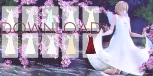 [MMD DOWNLOAD] Angel Dress by NaoreMotuo