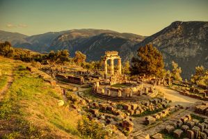 Greece - Delphi - Tholos - 03 by GiardQatar