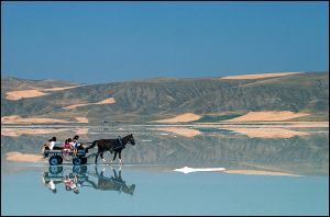 walking on the water-2 by salihguler