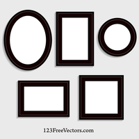 Picture Frame Vector by 123freevectors